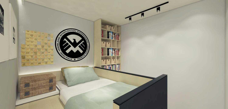 Ari Wibowo Design (Aw.d) 3X3 Loft Jakarta Jakarta Bedroom Modern 11313