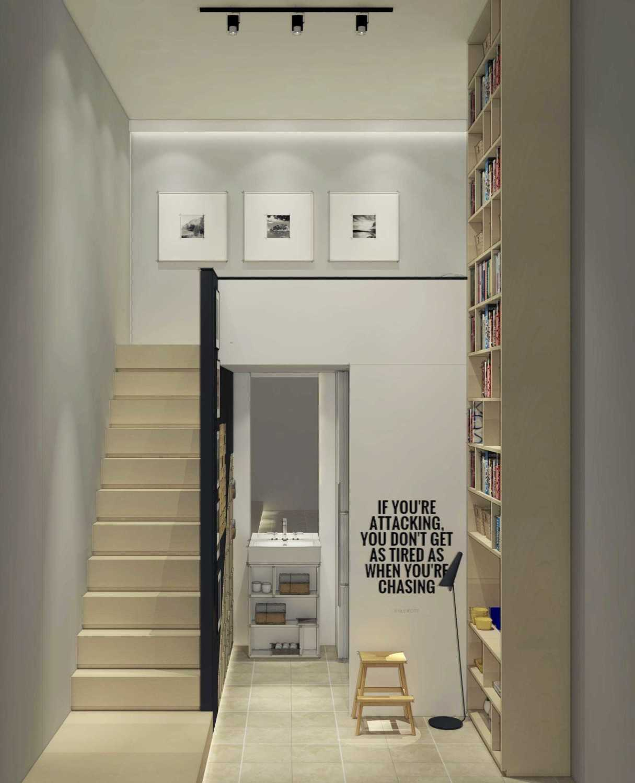 Ari Wibowo Design (Aw.d) 3X3 Loft Jakarta Jakarta Stairs Modern 11315