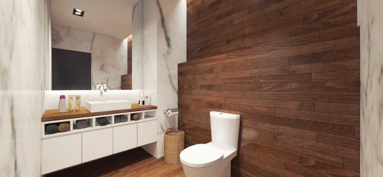 Ari Wibowo Design (Aw.d) Pasar Baru Mansion Jakarta Jakarta Toilet Modern 11344