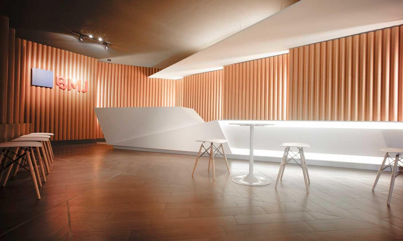 Ari Wibowo Design (Aw.d) Bmj Hq Karawang Karawang Lobby Modern 11380