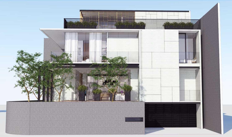 Ari Wibowo Design (Aw.d) Rk House Jakarta, Indonesia - Facade Modern 14519