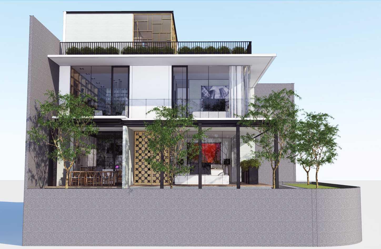 Ari Wibowo Design (Aw.d) Rk House Jakarta, Indonesia - Side View Modern 14520
