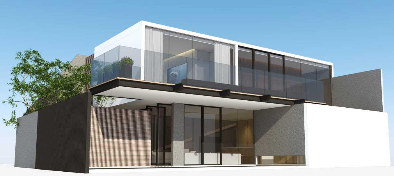 Ari Wibowo Design (Aw.d) Sn House Banten Banten Back View Modern 14533