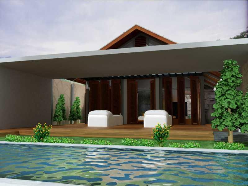Jerry M. Febrino Villa & Spa Bogor Bogor Swimming Pool  9652