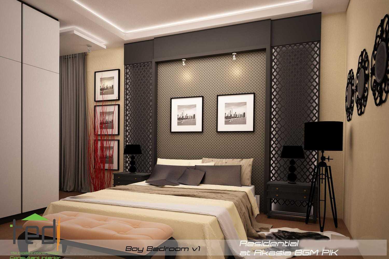 Pd Teguh Desain Indonesia Residential At Akasia Jakarta Jakarta Boy-Bedroom-V1-1 Modern 27636