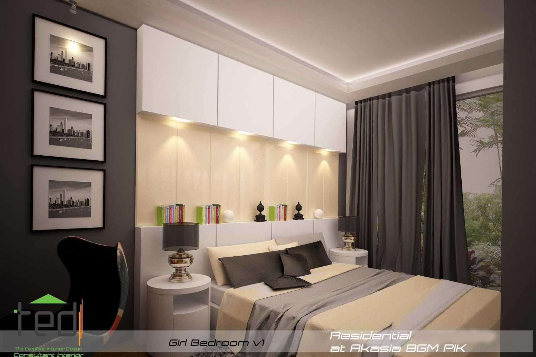 Pd Teguh Desain Indonesia Residential At Akasia Jakarta Jakarta Girl-Bedroom-V1-1 Modern 27637