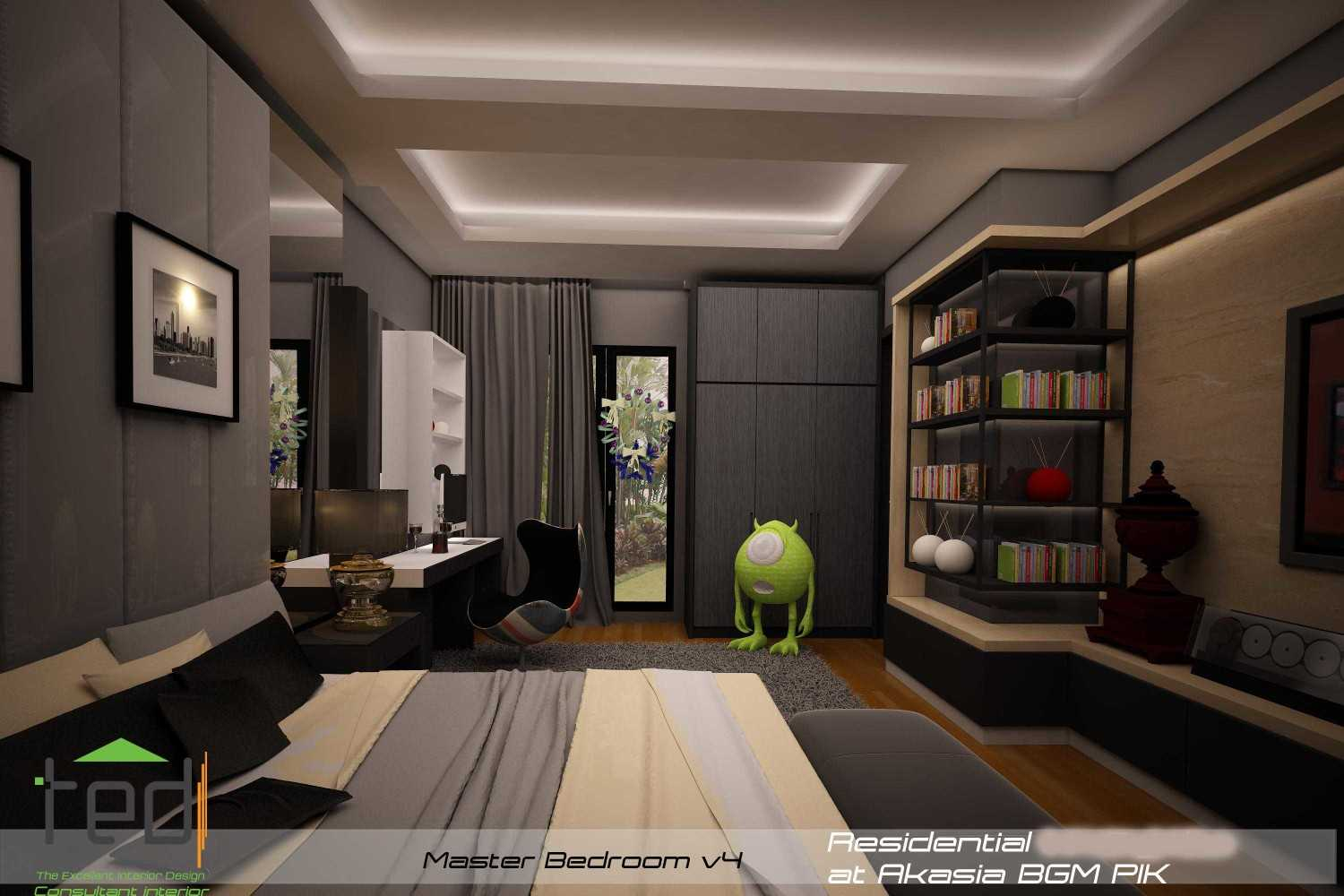 Pd Teguh Desain Indonesia Residential At Akasia Jakarta Jakarta Master-Bedroom-View-4-1 Modern 27638