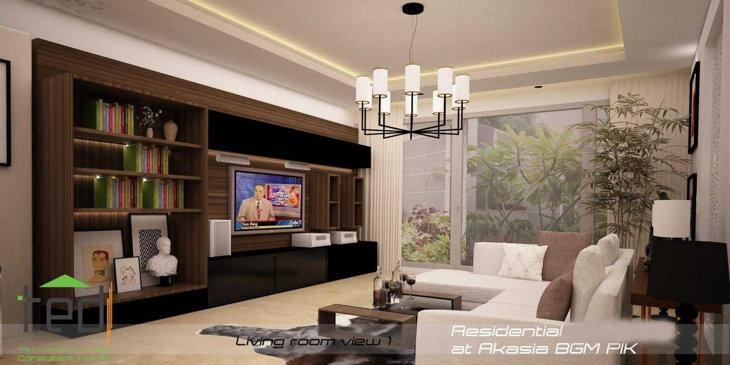 Pd Teguh Desain Indonesia Residential At Akasia Jakarta Jakarta Living-Room-View-1-1 Modern 27642