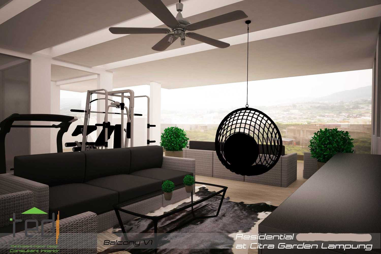 Foto inspirasi ide desain gym minimalis Balcony-v1-1 oleh Pd Teguh Desain Indonesia di Arsitag