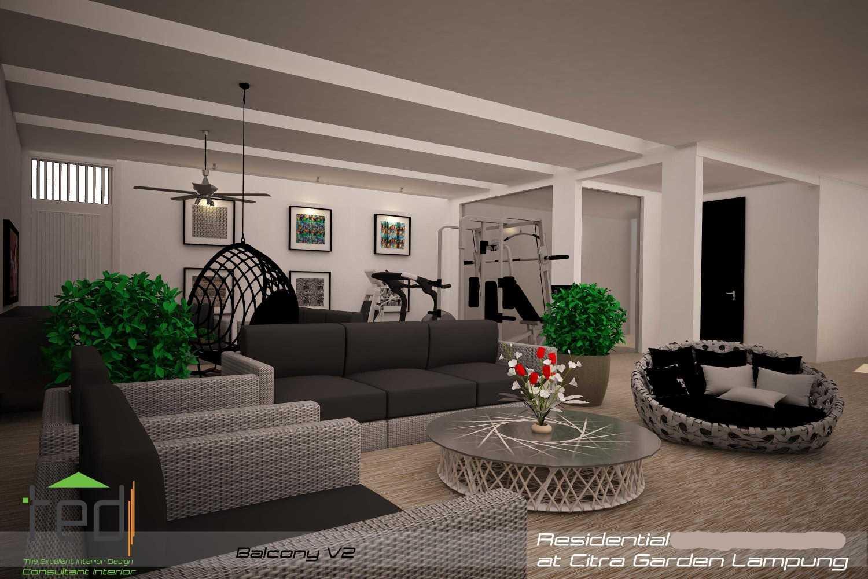 Pd Teguh Desain Indonesia Citra Garden Residence Lampung, Indonesia Lampung, Indonesia Balcony-V2-2 Modern 34771