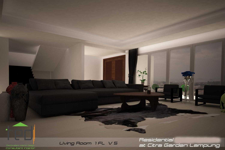 Pd Teguh Desain Indonesia Citra Garden Residence Lampung, Indonesia Lampung, Indonesia Living-Room-Fl1-V-5-1 Modern 34774