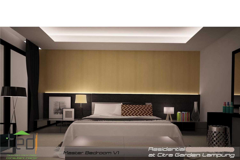 Pd Teguh Desain Indonesia Citra Garden Residence Lampung, Indonesia Lampung, Indonesia Master-Bedroom-V1-1 Modern 34776