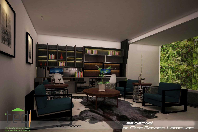 Foto inspirasi ide desain ruang belajar modern Study-room-1 oleh Pd Teguh Desain Indonesia di Arsitag