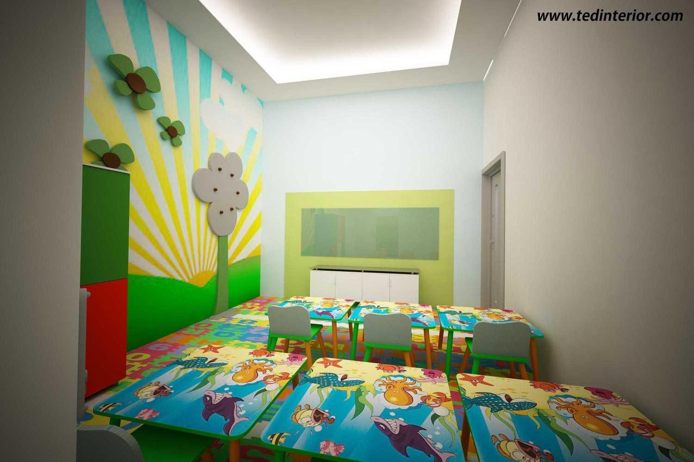 Foto inspirasi ide desain ruang belajar modern R oleh Pd Teguh Desain Indonesia di Arsitag