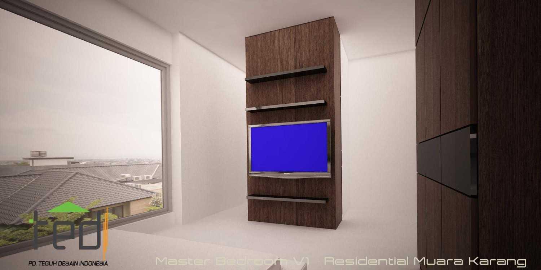 Pd Teguh Desain Indonesia Muara Karang Residence Jakarta, Indonesia Jakarta, Indonesia Master-Bedroom-V1 Modern 35112