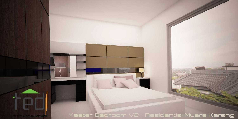 Pd Teguh Desain Indonesia Muara Karang Residence Jakarta, Indonesia Jakarta, Indonesia Master-Bedroom-V2 Modern 35113