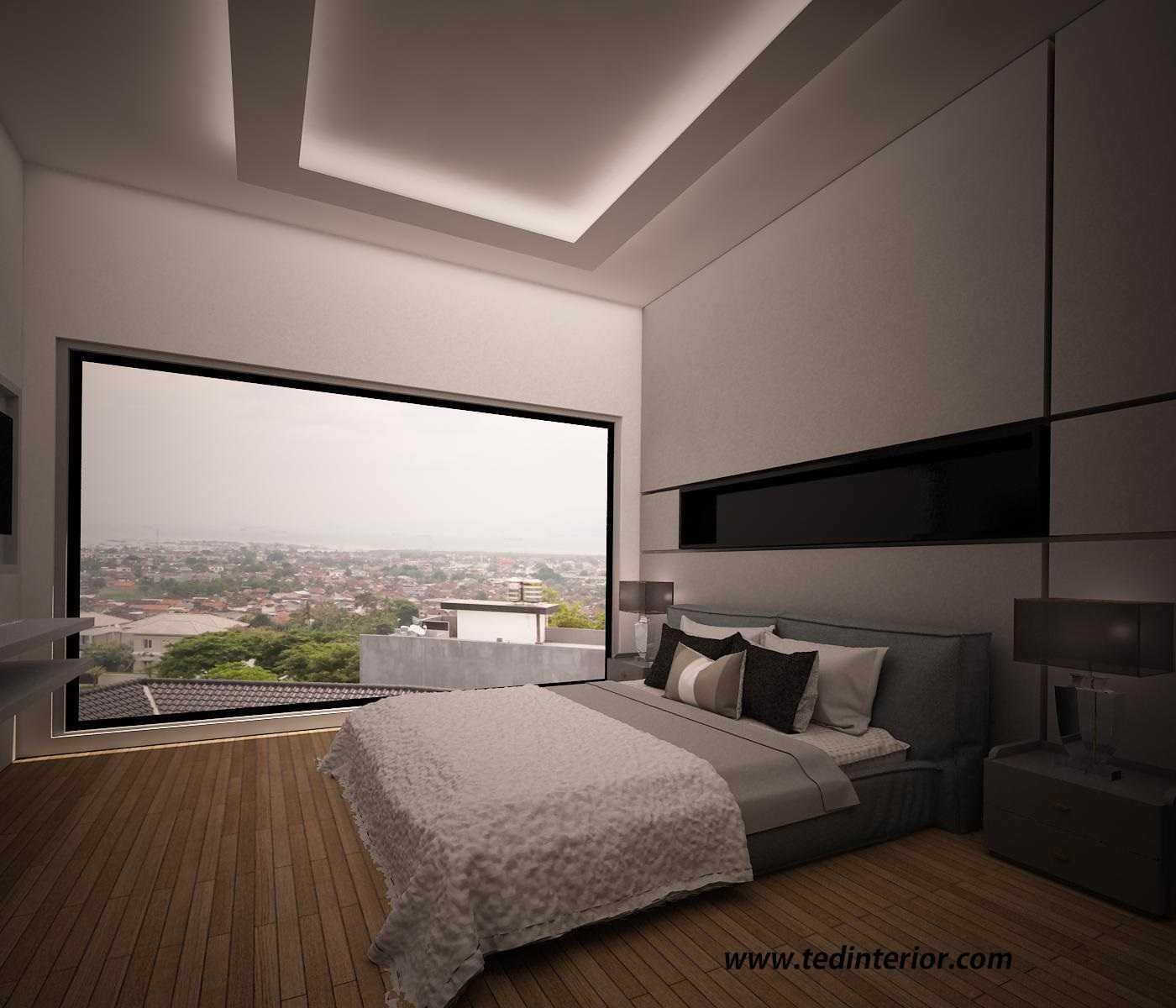 Pd Teguh Desain Indonesia Cluster Kenari Bukit Golf Mediterania Jakarta, Indonesia Jakarta, Indonesia Master-Bedroom-V1 Modern 35360