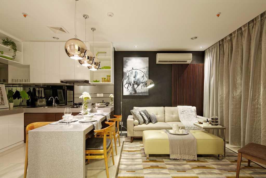 Teddykoo  2 Bedroom Show Unit Paddington Height Apartment  Alam Sutera  Alam Sutera  Living And Dining Room Modern 9624