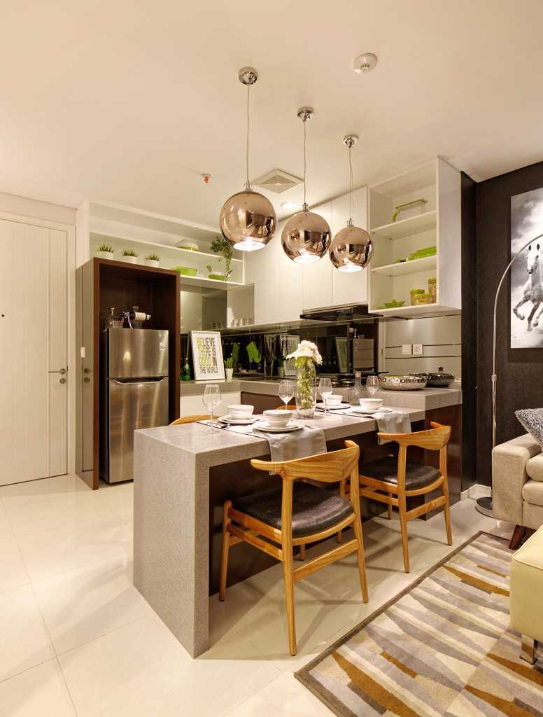 Teddykoo  2 Bedroom Show Unit Paddington Height Apartment  Alam Sutera  Alam Sutera  Dining Area Modern 9625