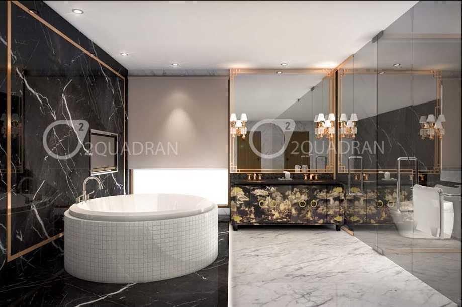 Foto inspirasi ide desain kamar mandi klasik Bathroom oleh teddykoo  di Arsitag