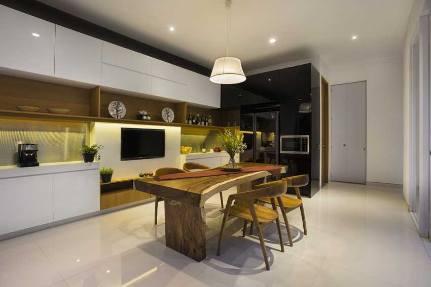 Erwin Kusuma Kbp House Bandung Bandung Kitchen Room Kontemporer 9791
