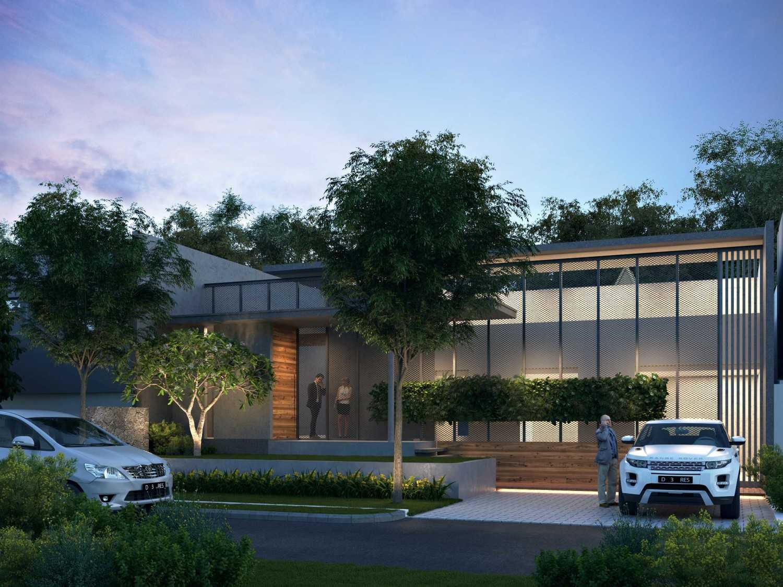 Foto inspirasi ide desain rumah kontemporer 160915-cam01-bintarohouse-final oleh erwin kusuma di Arsitag