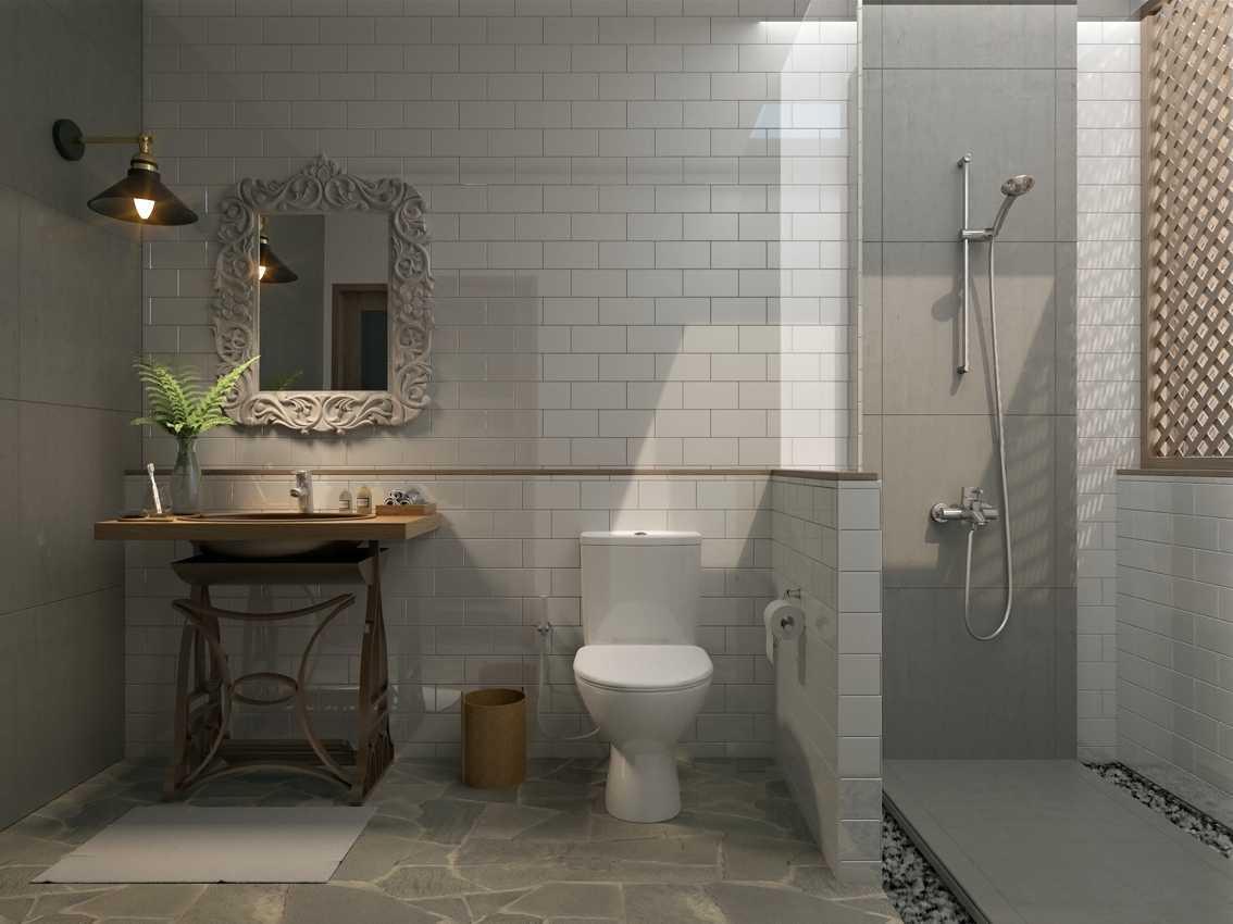 Foto inspirasi ide desain kamar mandi tradisional Smdeluxe-bath oleh erwin kusuma di Arsitag