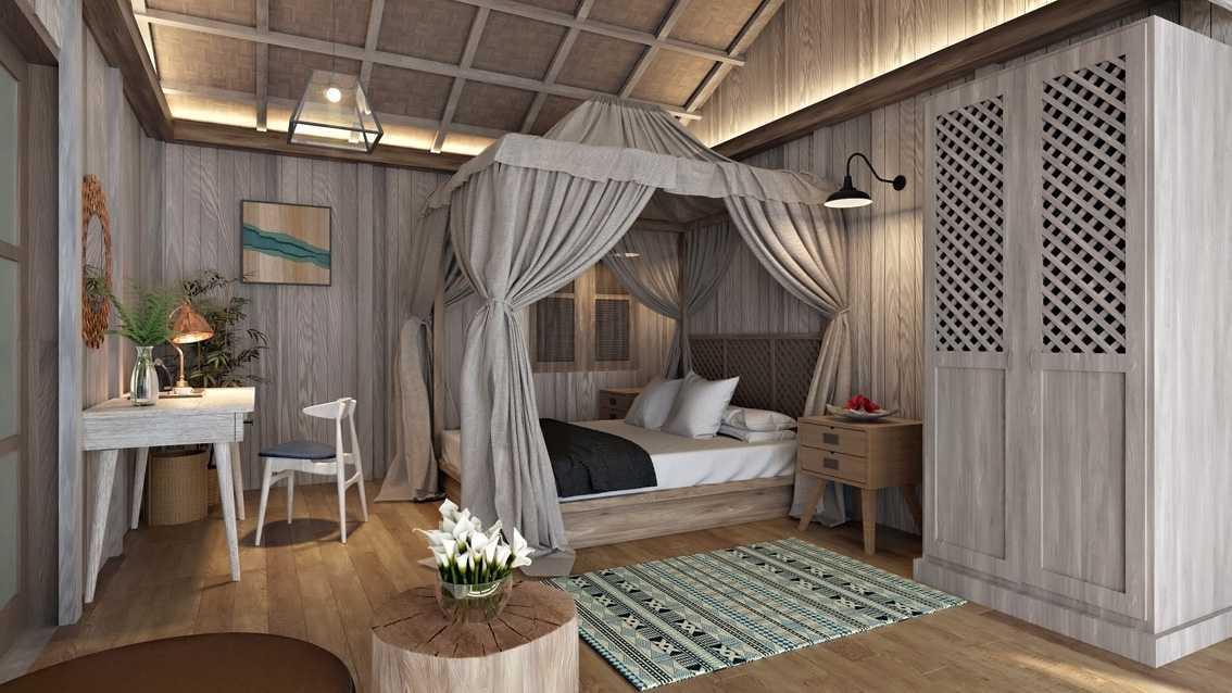 Foto inspirasi ide desain kamar tidur tradisional Smdeluxe-room oleh erwin kusuma di Arsitag