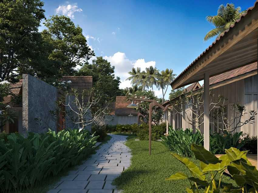 Foto inspirasi ide desain taman tropis Smkawasan oleh erwin kusuma di Arsitag