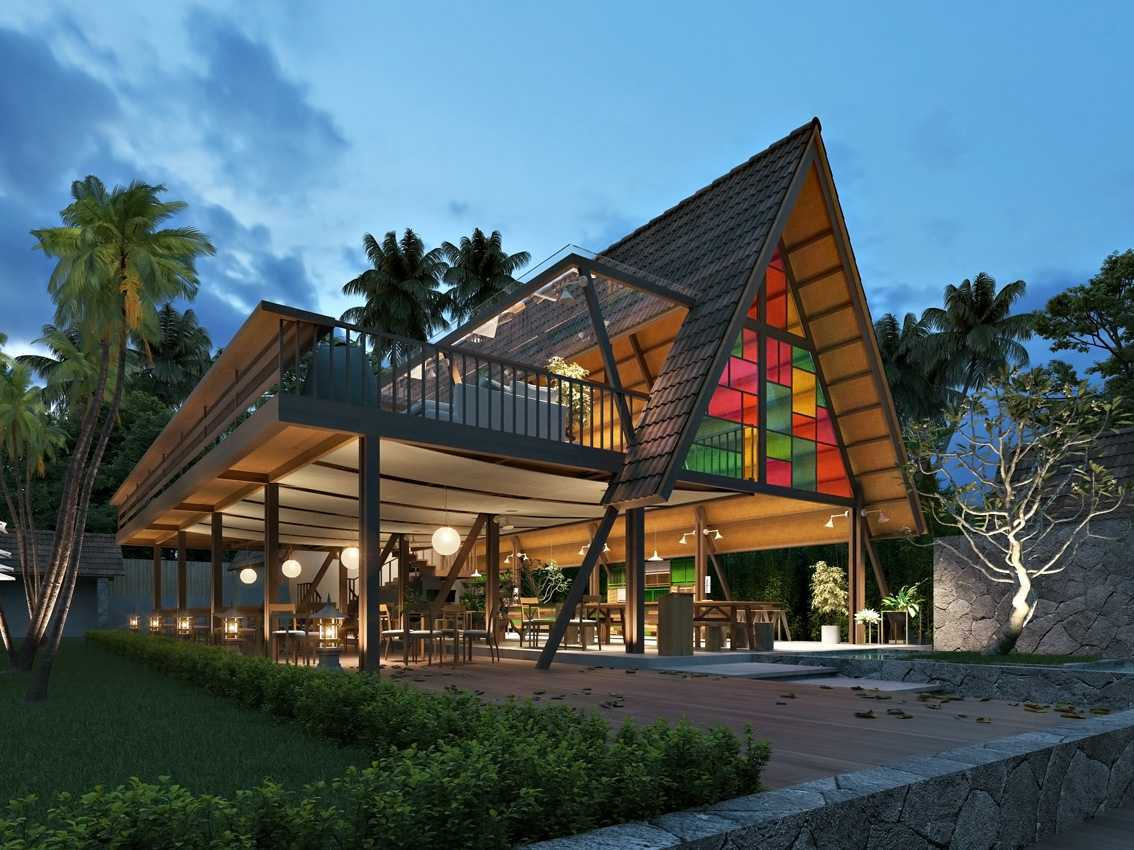 Foto inspirasi ide desain exterior tradisional Smresto oleh erwin kusuma di Arsitag