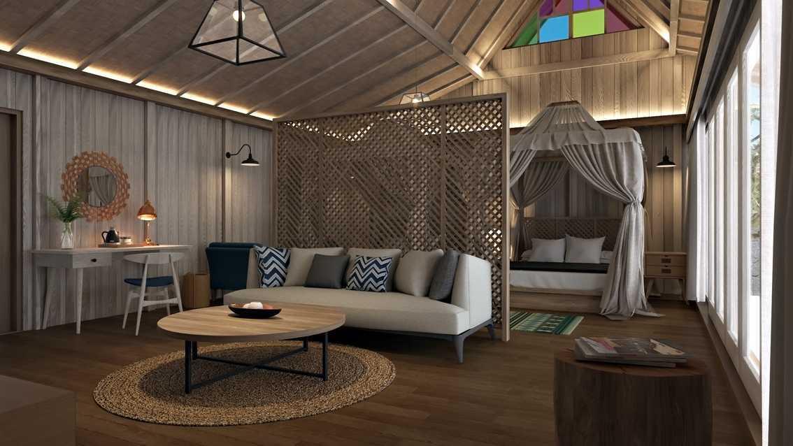 Foto inspirasi ide desain ruang keluarga tradisional Smsuite-room oleh erwin kusuma di Arsitag