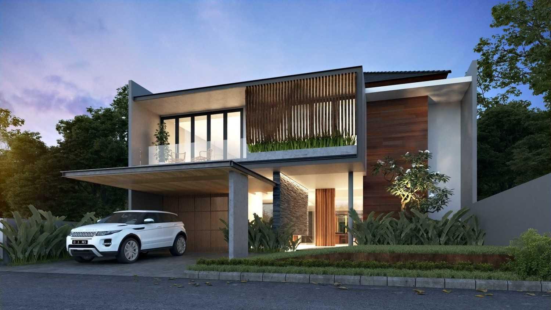 Foto inspirasi ide desain rumah minimalis 170514-cam01-kbp-front-final oleh erwin kusuma di Arsitag