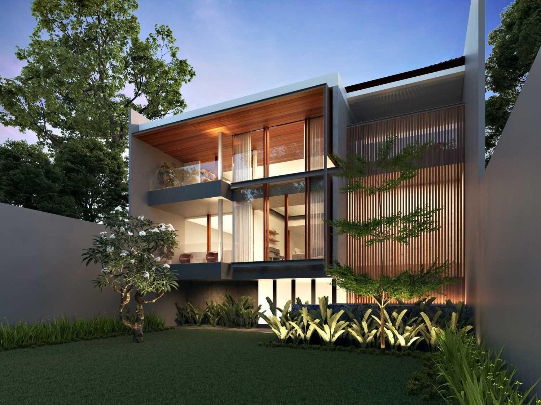 Foto inspirasi ide desain rumah modern 170515-cam02-kbp-back-final oleh erwin kusuma di Arsitag
