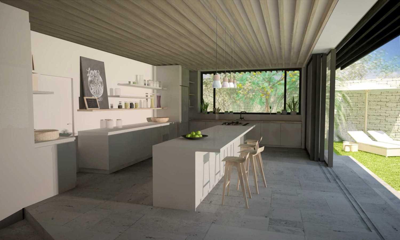 Idea Agency Villa 91 Bali Bali Kitchen Modern 18078