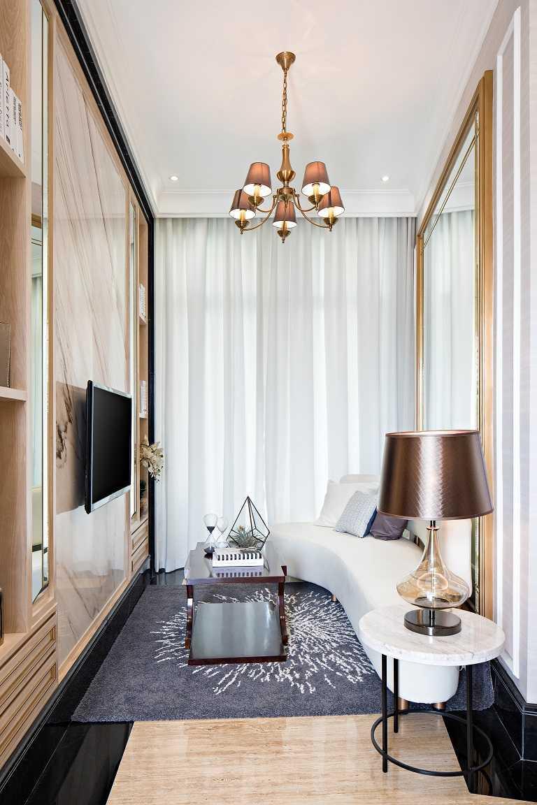Helloembryo One Velvet 2 Bedroom Show Suite Daerah Khusus Ibukota Jakarta, Indonesia Daerah Khusus Ibukota Jakarta, Indonesia Family Room Modern 44080