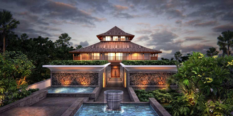 Icds Architect Pejeng Villa Bali Bali Front View  13913