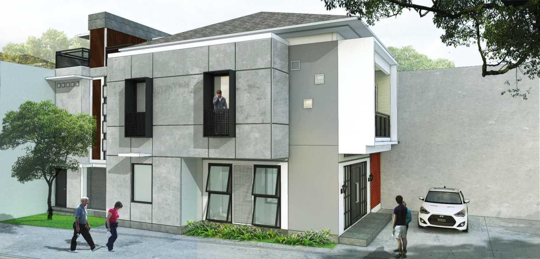 Localic Studio Breathing House Bintaro, Pesanggrahan, South Jakarta City, Jakarta, Indonesia Bintaro Side View  9862