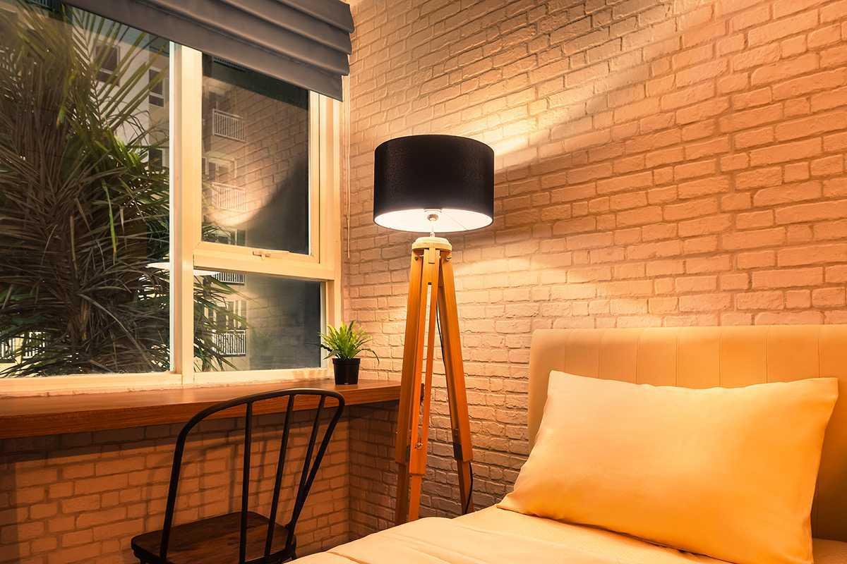 project interior apartment tipe studio desain arsitek oleh localic