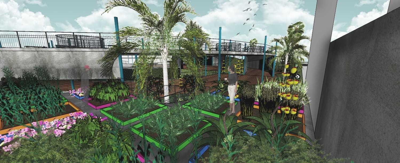 Hadid Syafaad Center Of Life Jakarta Selatan Jakarta Selatan Area Kebun Modern 18560