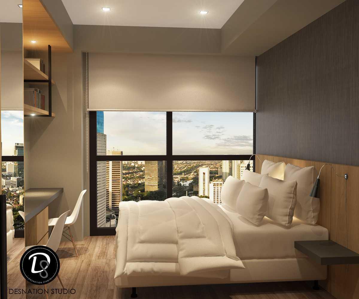 Foto inspirasi ide desain kamar tidur anak minimalis Kids bedroom oleh Desnation Studio di Arsitag