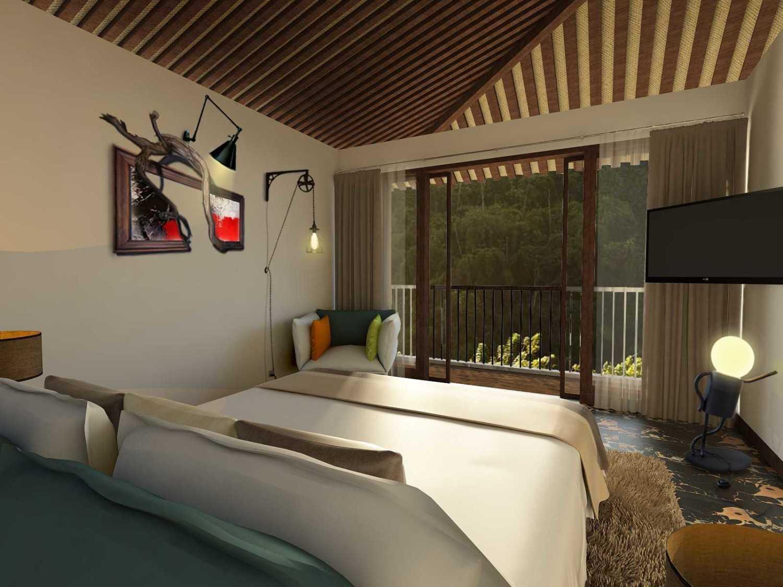 Foto inspirasi ide desain kamar tidur tropis Bedroom oleh KsAD di Arsitag
