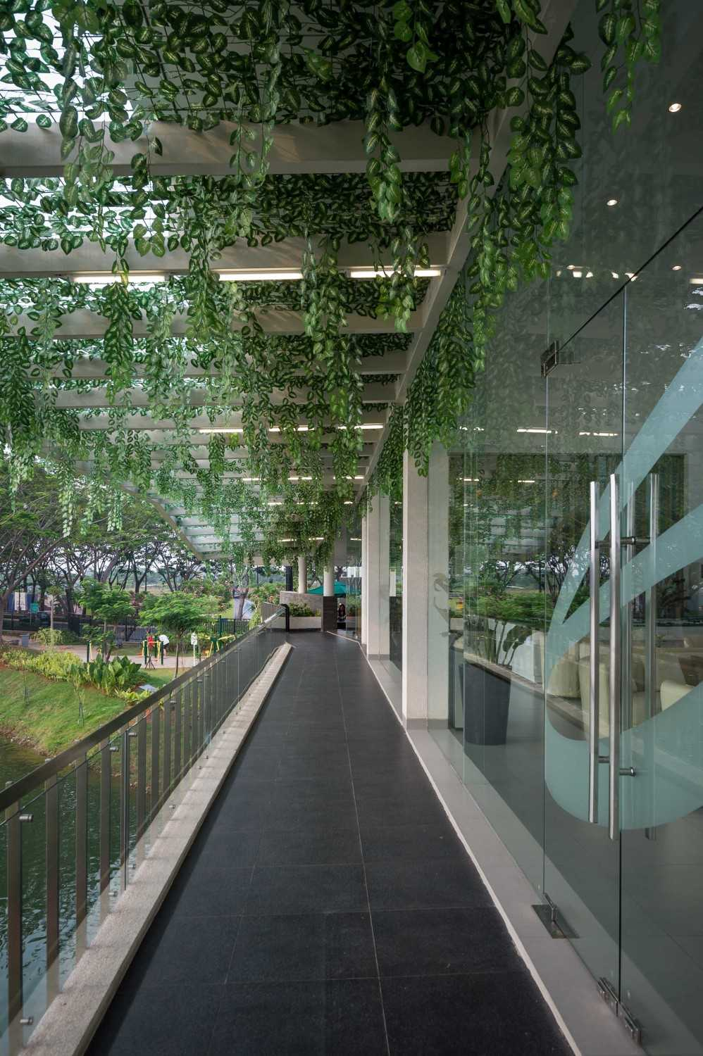 Hmparchitects Marketing Office Jakarta, Indonesia Jakarta, Indonesia Terrace Minimalis 18819