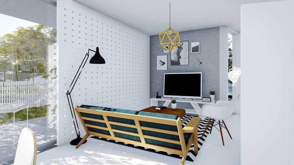 Dform Ar-House Serpong, Banten, Indonesia Serpong, Banten, Indonesia Living Room Minimalist,modern 28772
