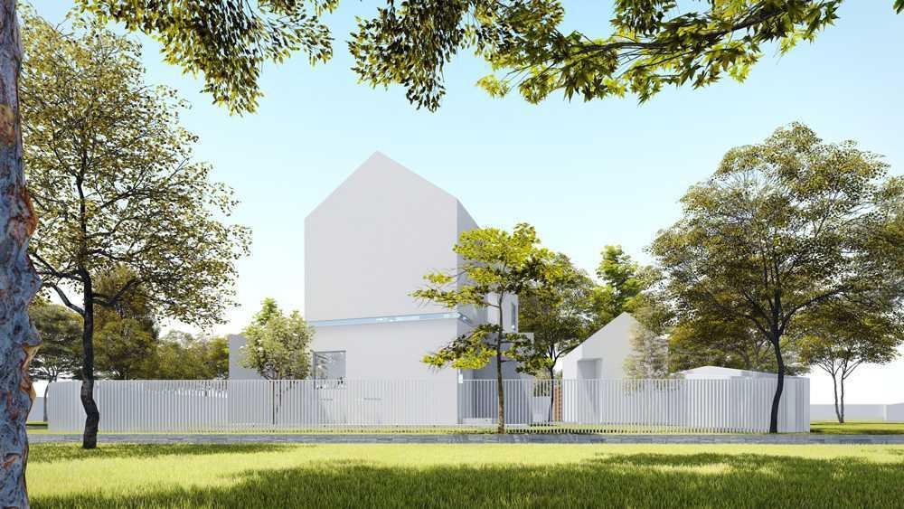 Dform Ar-House Serpong, Banten, Indonesia Serpong, Banten, Indonesia Back View Minimalist,modern 28773