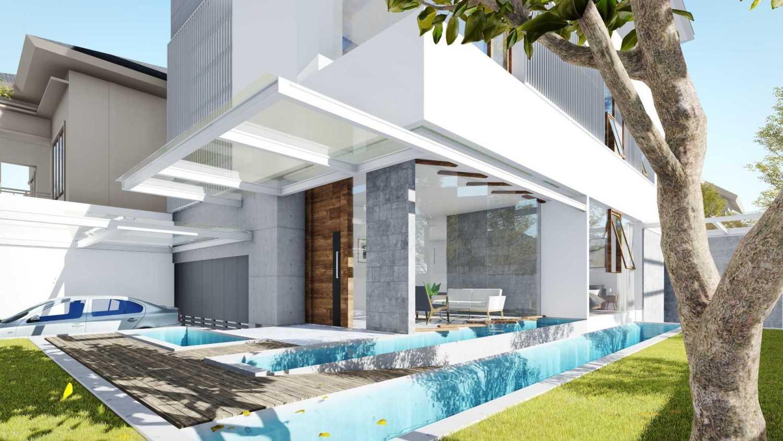 Dform S House Pulo Gadung, Kota Jakarta Timur, Daerah Khusus Ibukota Jakarta, Indonesia Pulo Gadung, Kota Jakarta Timur, Daerah Khusus Ibukota Jakarta, Indonesia Terrace Minimalist 39926
