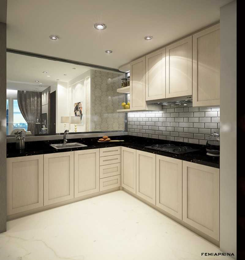 Foto inspirasi ide desain dapur kontemporer Kitchen oleh Femi Aprina di Arsitag