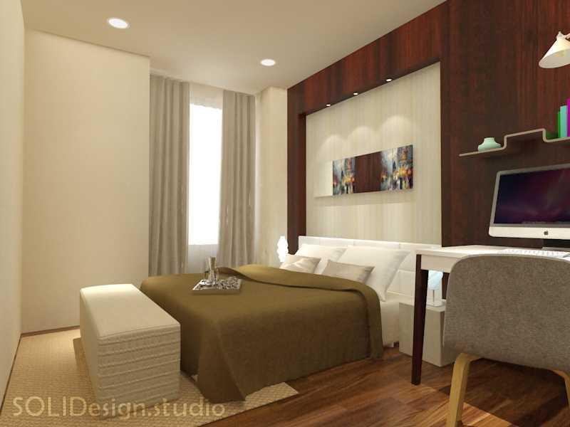 Solidinterior Parisian Modern Style Apartment Jakarta, Indonesia  Jakarta, Indonesia  Master Bedroom Design  10292