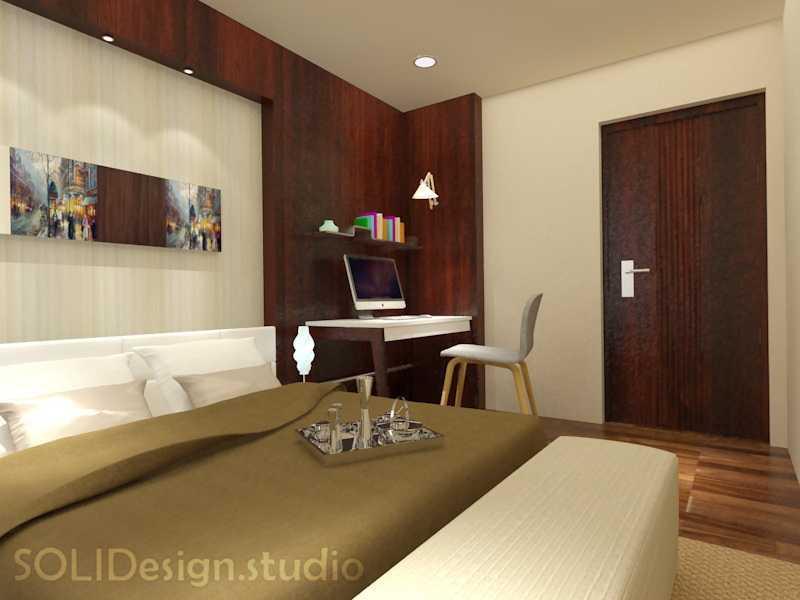 Solidinterior Parisian Modern Style Apartment Jakarta, Indonesia  Jakarta, Indonesia  Master Bedroom  10293