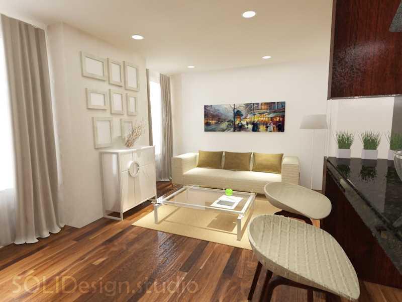 Solidinterior Parisian Modern Style Apartment Jakarta, Indonesia  Jakarta, Indonesia  Living-Room-Apt  10296