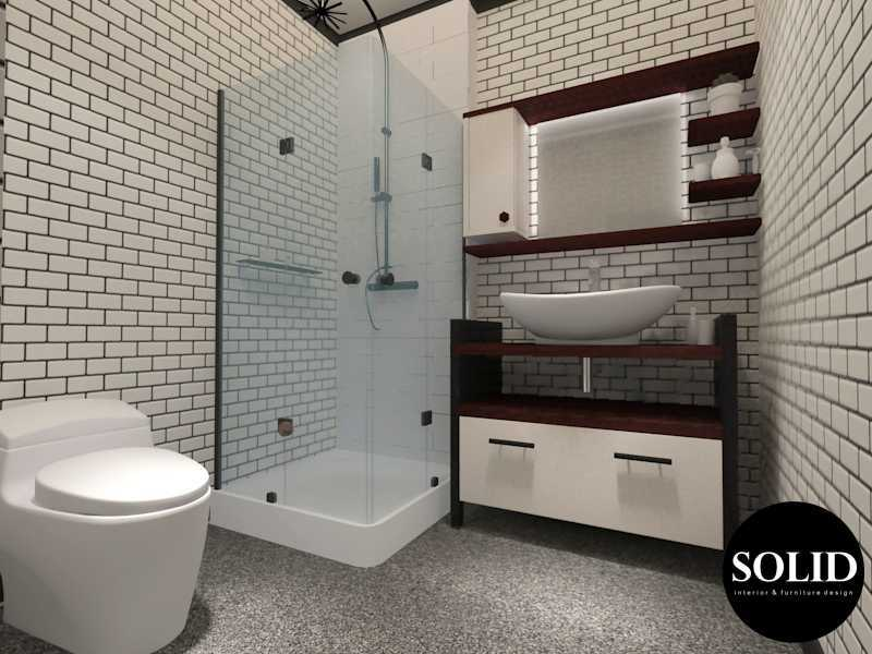 Solidinterior Industrial Style Apartment  Gallery West Apartment  Gallery West Apartment  Guest-Bathroom Industrial 16350